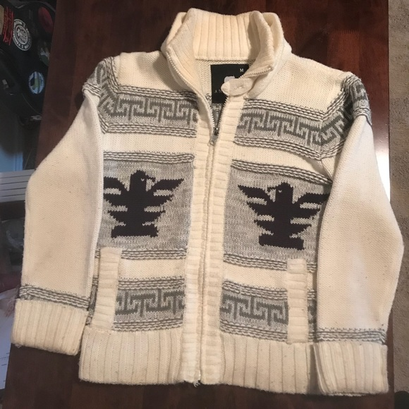 a13d6323398 American Stitch Other - Lebowski style cowichan sweater cardigan